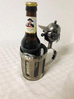 Flaschenhalter Bierkrug