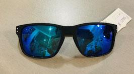 Sonnenbrille Kunststoffgestell Gläser Blau verspiegelt 12