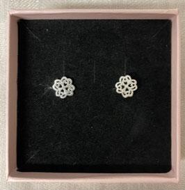"Ohrstecker ""Mandala Blume"""