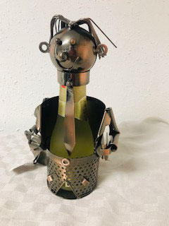 Mini Flaschenhalter Reisender