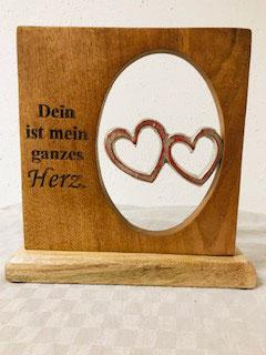 """""""Gilde"""" Standbild Herz"""