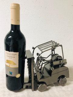 Flaschenhalter Gabelstablerfahrer