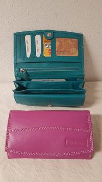 Geldbörse von Tillberg Echt Leder Fb. Pink