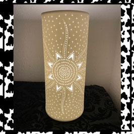 """""""Gilde"""" Porzellanlampe Sonne"""