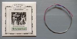 Fanitullen D-streng (ters) tarm helsp. alum. / Fanitullen D-string aluminium wound gut