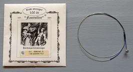 Fanitullen A-streng (kvart) stål helsp. / Fanitullen A-string steel