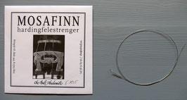 Mosafinn E-streng (kvint) sølvstål / Mosafinn E-string silver-steel