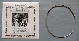 Fanitullen G-streng (bass) tarm helsp. / Fanitullen G-string silver wound gut
