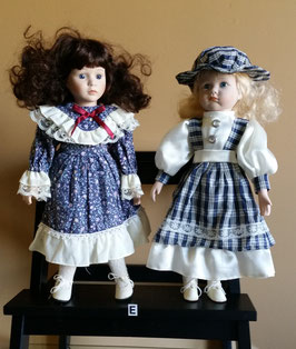 Lot of two Antique dolls