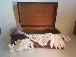 Vintage memory Chest,Wooden Chest, Keepsake Box, Memory Box