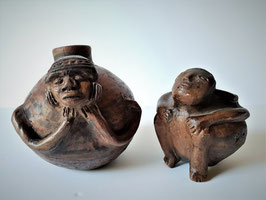 Pre-Columbian ceramic, Male anthropomorphic figures, Capuli Culture