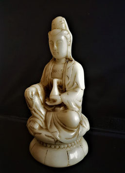 Finely Carved Marble Buddha, The Qing dynasty Marble Buddha statue