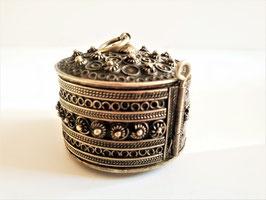 Handcrafted Vintage Berber Kabyle Box Bracelet