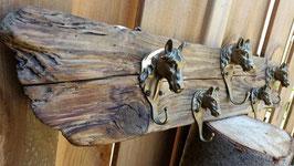 Rustic Coat Rack,Brass Horse Head Coat rack