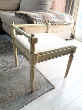 GORGEOUS Victorian Chair Low Back Vanity dresser chair