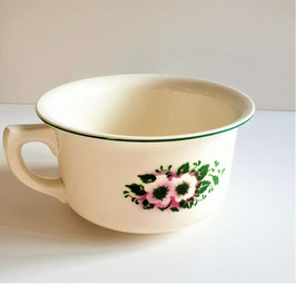 The most precious Chamber Pot, Lustre Single Handle Potty, Made in Czechoslovakia Jardiniere Planter