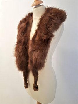 Vintage fur stole 1920's, Vintage Stole Luxurious fur wrap