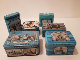 Vintage J.B. Diesch Tin Box, Dutch Holland Vintage, Kitchen Decor, Storage containers