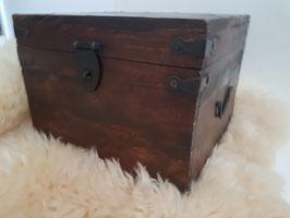 Vintage memory Chest , Wooden Storage trunk