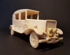 RARE Bone scale model Ford 1930's. Made in Belgium Congo circa 1940 from Ox-bone