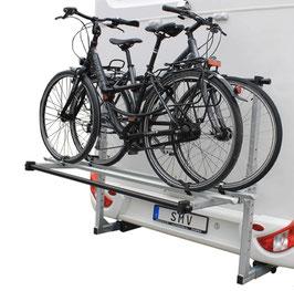 Fahrradträger für 2 Fahrräder oder E-Bikes klappbar (ohne Leuchtenträger)