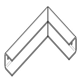Knotenstrebe Universal  (Links)
