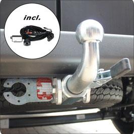Anhängekupplung für Kastenwagen Peugeot Boxer- Abnehmbar ab Bj. 02/2011 bis aktuell