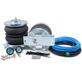 Zusatzluftfeder Z8 ZFA230/244/250 Fiat Ducato / Citroen Jumper / Peugeot Boxer inkl. Universal Manometerblende und Kompressor