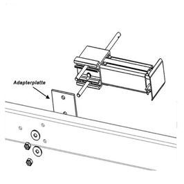 Adapterplatten für Alu-Matic Stützen
