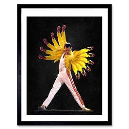 Ben The Rules Freddie Wings A3 Print 017