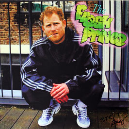 "Fresh Prince Harry 'Viral' Print On Canvas Signed 16""x 16"""