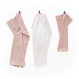 Handdoeken set HOP. Roze