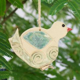 Blau-grüner Vogel