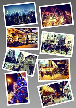 香港・マカオのスナップポストカード