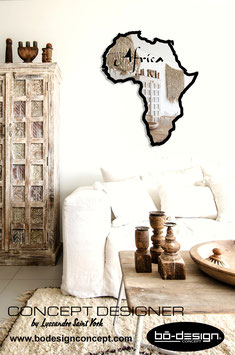 MIROIR DESIGNER / MODELE AFRICAN