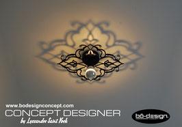 PLAFONNIER ORIENTAL by DESIGNER / MODELE BAROUSH BLACK
