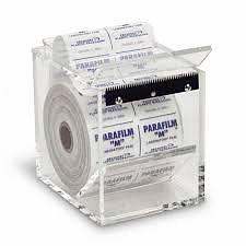Dispensador de acrílico con navaja  para Papel Parafilm, Marca HEATHROW SCIENTIFIC HS234524