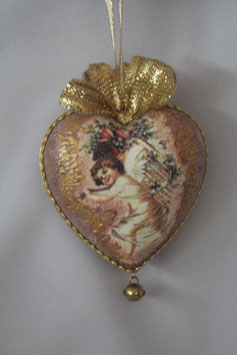 "Decoupage Herz ""Cupid"""