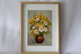 """Bild """"Bunte Blumen in Vase"""""""