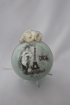 "Decoupage Kugel ""Paris"""