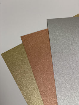 Papier Glitter fein verschiedene