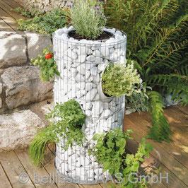 Gabbione fioriera Ø40cm x 80cm