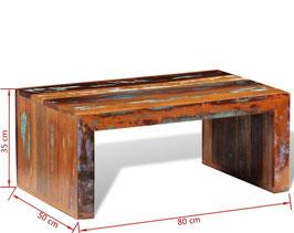 Tavolino legno riciclato