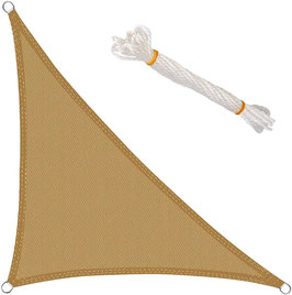 Vela triangolo 90°- 185 g/m² - 4x4x5,8