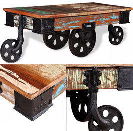 Tavolino recycled RailWay