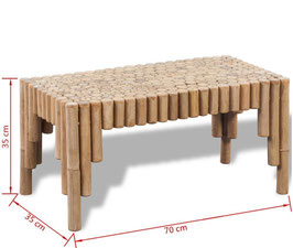 Tavolino Bambù
