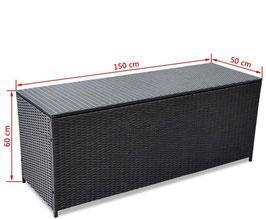 Box riponicuscini XL nero