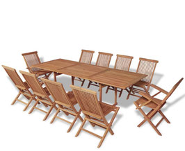 "Set in Teak ""Normandie"""