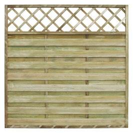 Pannello privacy legno impregnato