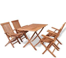 """Set in legno di Teak modello """"SIDNEY"""""""